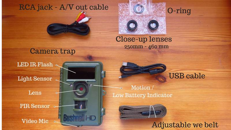 Bushnell NatureView - Review camera trap settings and