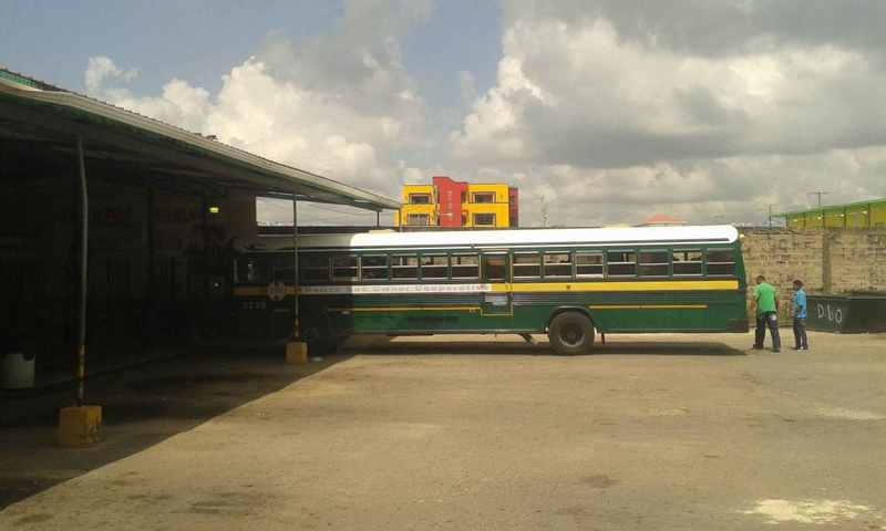 Belize travel by bus