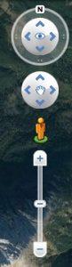 Google earth Pro navigation