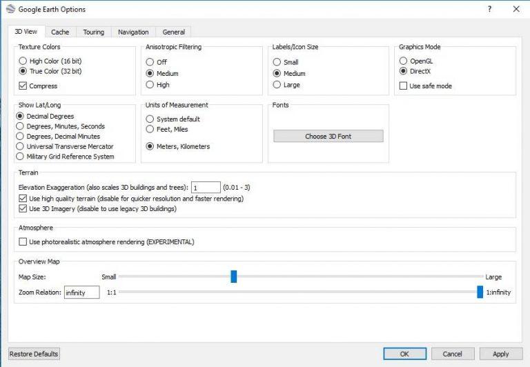 google earth free download for windows 7 32 bit