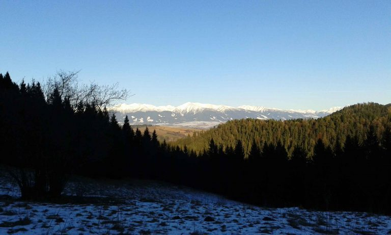 view on high tatras
